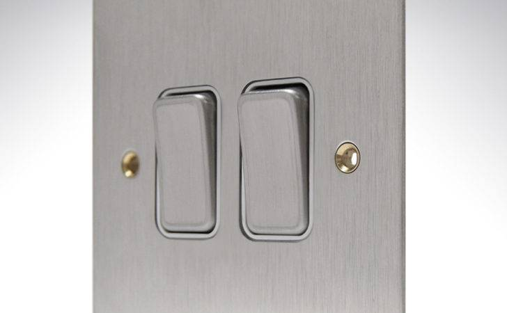 Bss Edge Brushed Stainless Steel Flat Plate