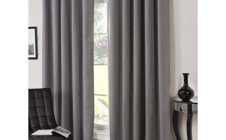 Bucking Blackout Eyelet Curtains