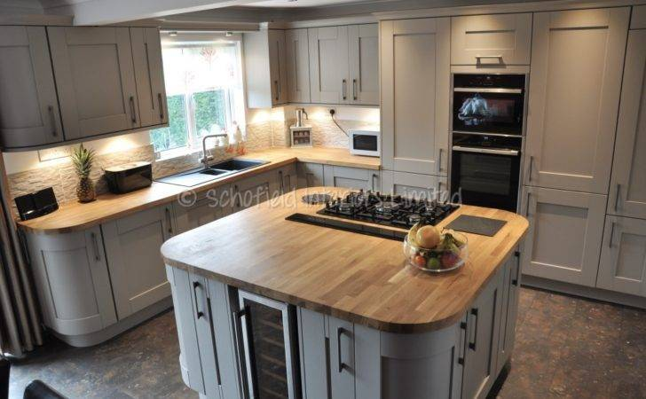 Buckingham Stone Grey Ash Kitchen Solid Oak