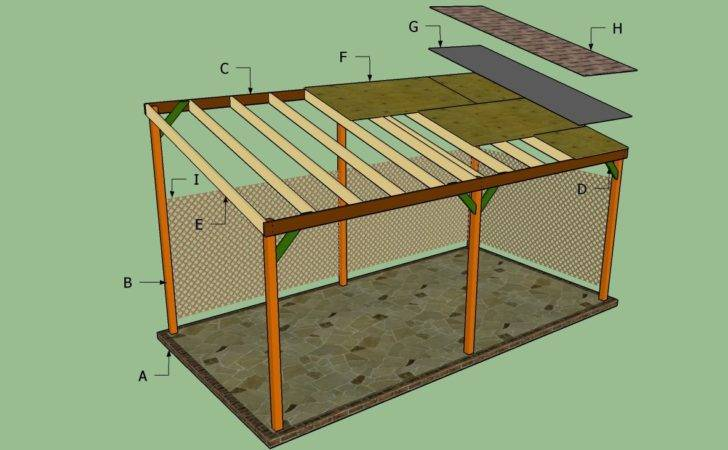 Build Lean Carport Howtospecialist