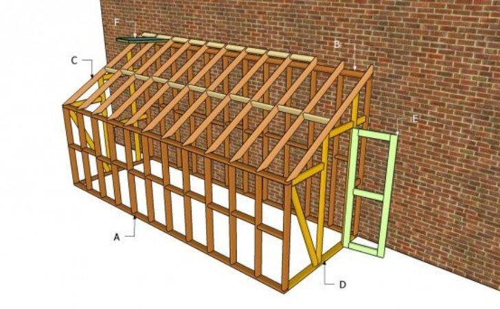 Build Lean Greenhouse Cottage Garden Living