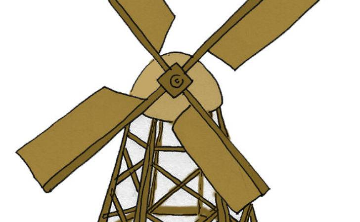 Build Model Wooden Windmill Ehow