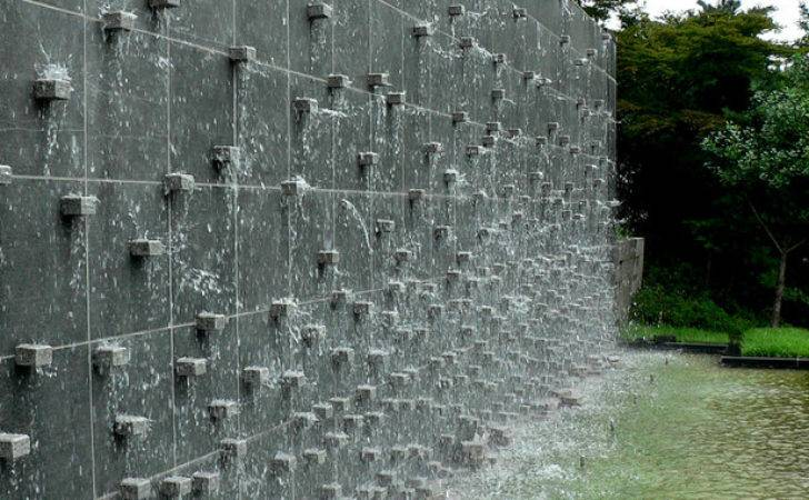 Build Water Feature Wall Make Your House
