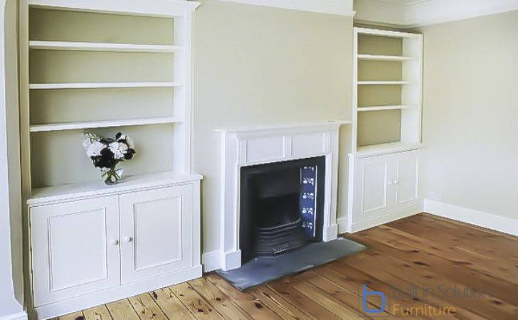 Built Alcove Cupboards Storage Your Living Room