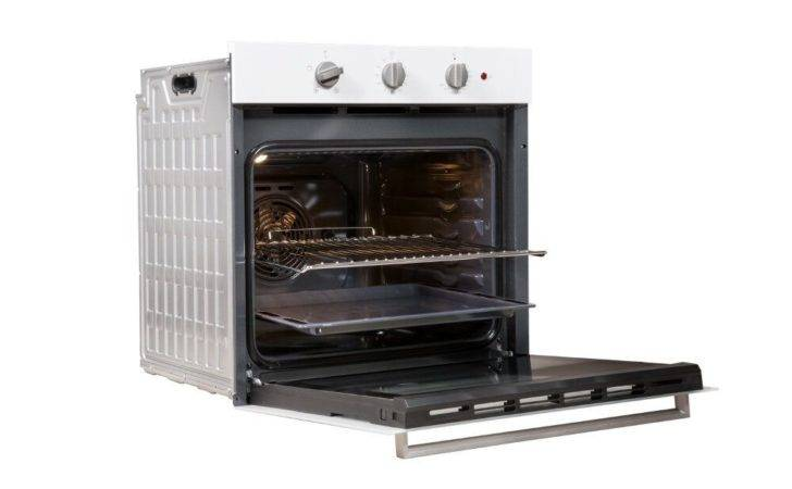 Built Electric Oven White Colour Ifw