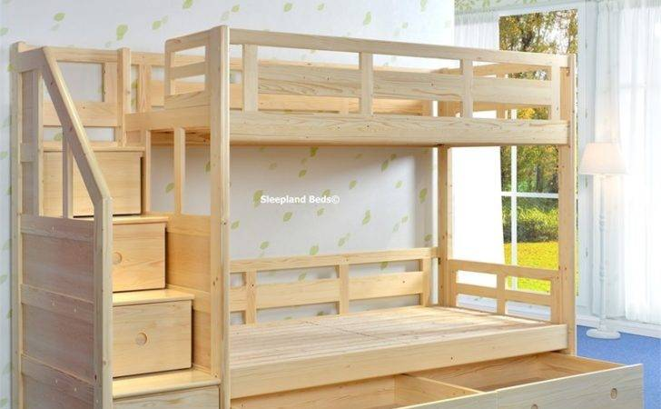 Bunk Beds Side Stairs Cameo Deluxe