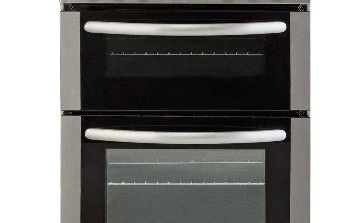 Bush Gas Cooker Stainless Steel