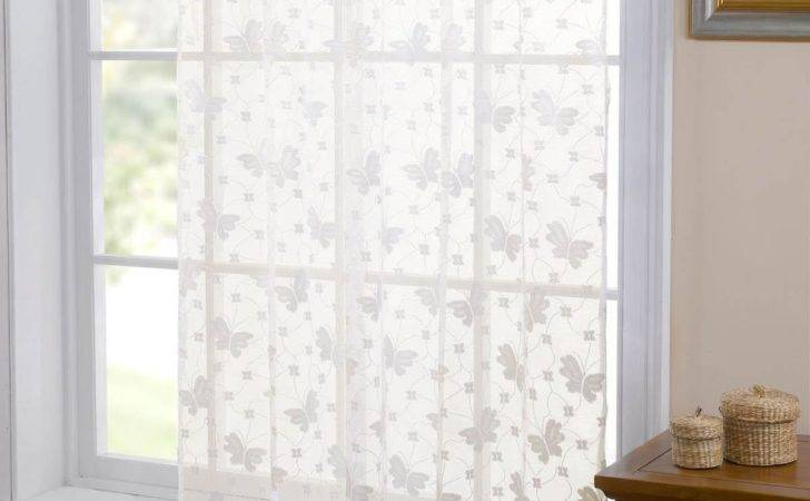 Butterfly Lace Panel Cream Delivery Terrys