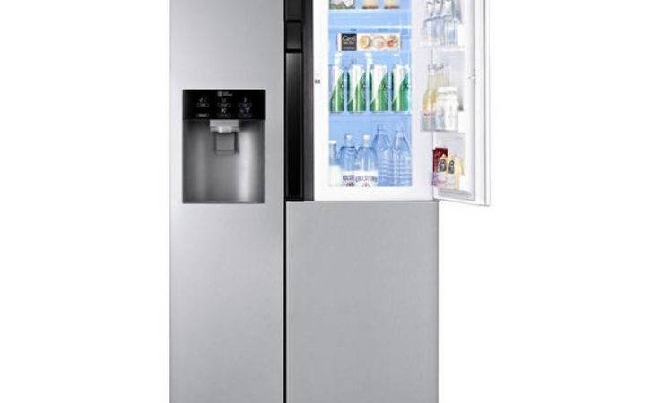 Buy Aeav American Style Fridge Freezer Brushed