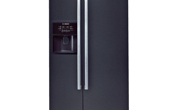 Buy Bosch Kan American Style Fridge Freezer Black