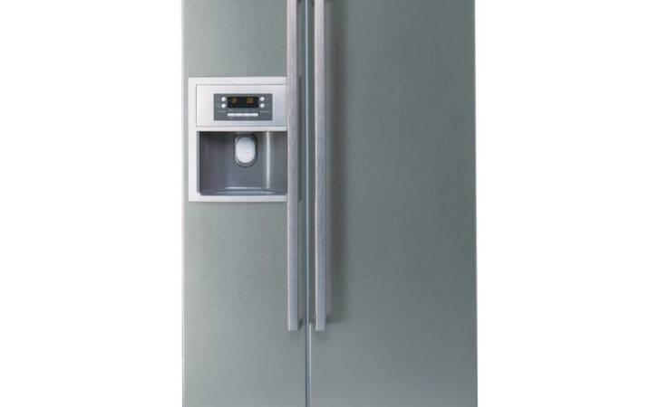 Buy Bosch Kan American Style Fridge Freezer Silver