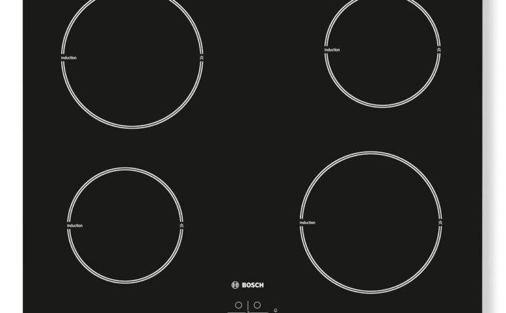 Buy Bosch Pia Electric Induction Hob Black