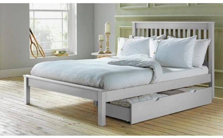 Buy Collection Aspley Small Double Bed Frame White