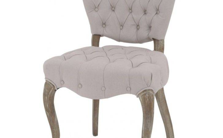 Buy Cream Button Back Vintage Style Dining Chair