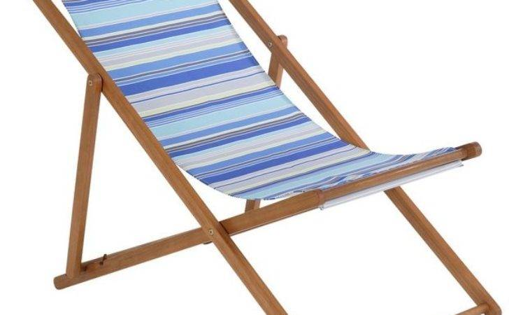 Buy Deck Chair Blue Striped Argos Your