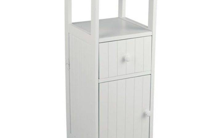 Buy Home Tongue Groove Drawer Storage Unit White