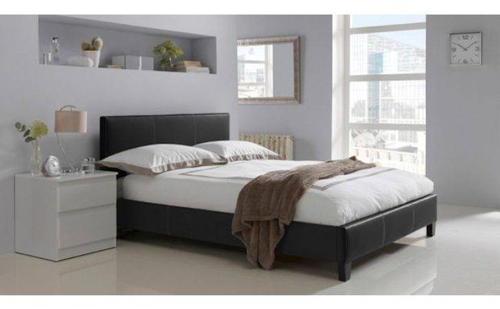 Buy Hygena Constance Small Double Bed Frame Black
