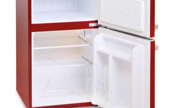 Buy Montpellier Mab Undercounter Fridge Freezer Red