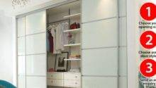 Buy Sliding Wardrobe Amp Fitted Doors Huws Gray