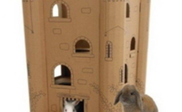 Buy Smartkitz Cardboard Pet Castle Large