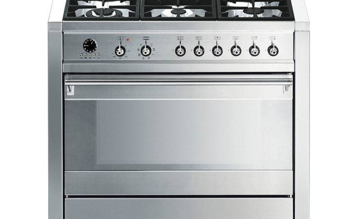 Buy Smeg Opera Dual Fuel Range Cooker Stainless Steel