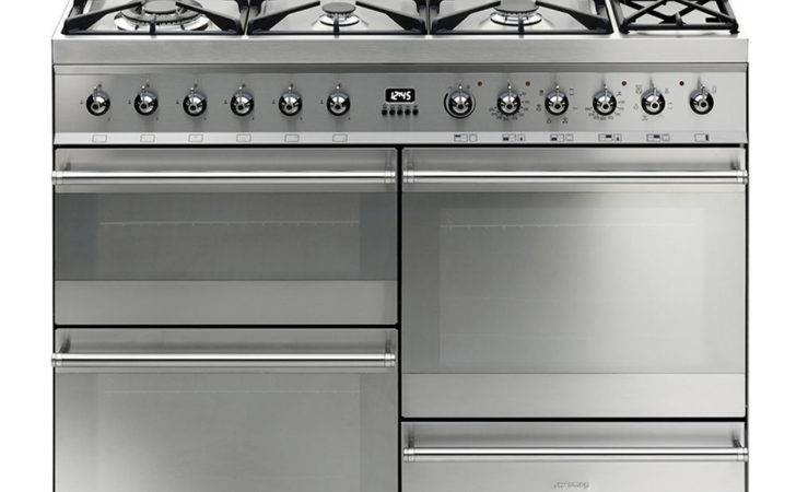 Buy Smeg Symphony Dual Fuel Range Cooker Stainless