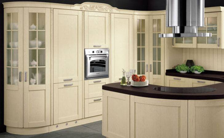 Buy Wholesale Curved Kitchen Cabinets China