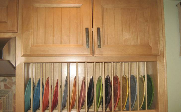 Cabinet Accessories Plate Rack