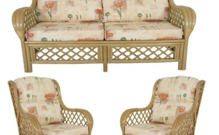 Cane Conservatory Furniture Cushions Only Suite