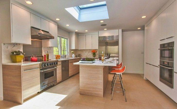 Captivating Ideas Kitchens Skylights