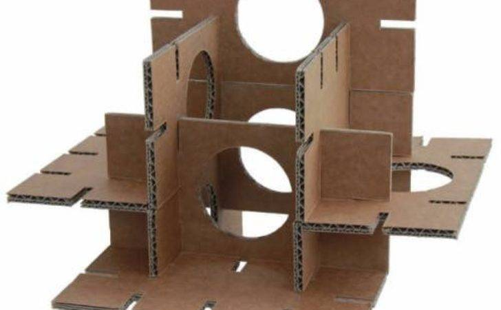Cardboard Pet Castles Rabbits Small Animals Barks
