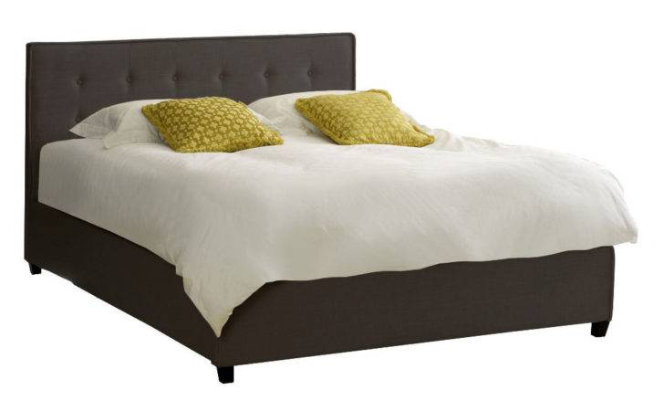 Caserta Button Fabric Bed Delivery Next Day Select