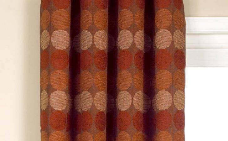 Cashback Colours Jameson Eyelet Curtains Red