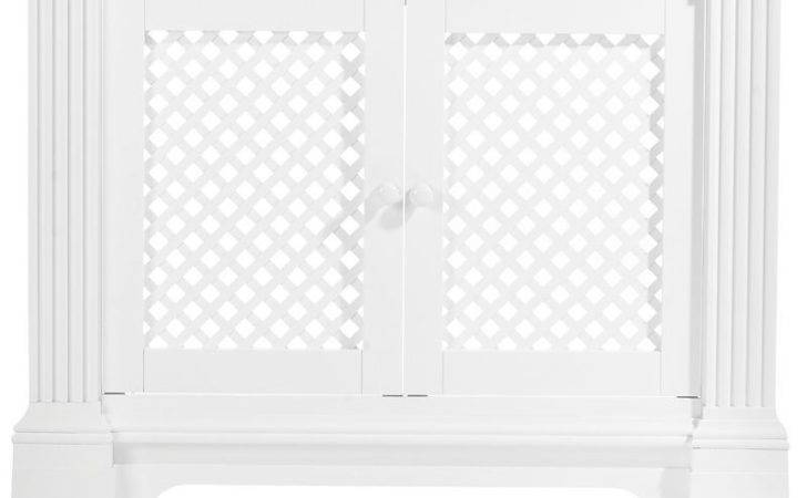 Cashback Winther Browne Henley Satin White Mdf Radiator