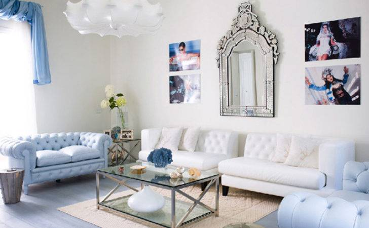 Casual Lounge Neutral Blue Decosee