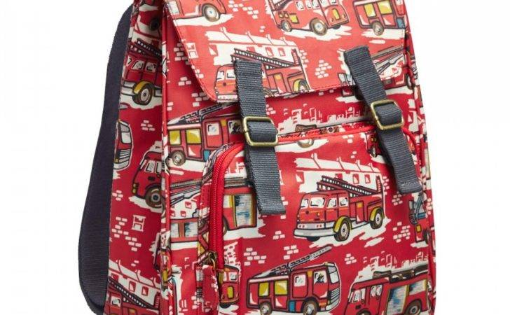 Cath Kidston Cotton Fire Engine Kids Backpack