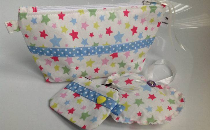 Cath Kidston Stars Fabric Cosmetic Bag Gift Set Sewmoira
