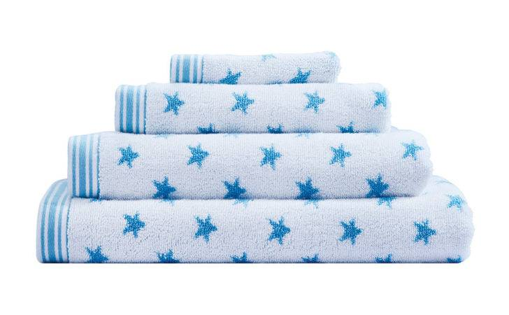 Cath Kidston Stars Towel Ink Face Cloth Amara