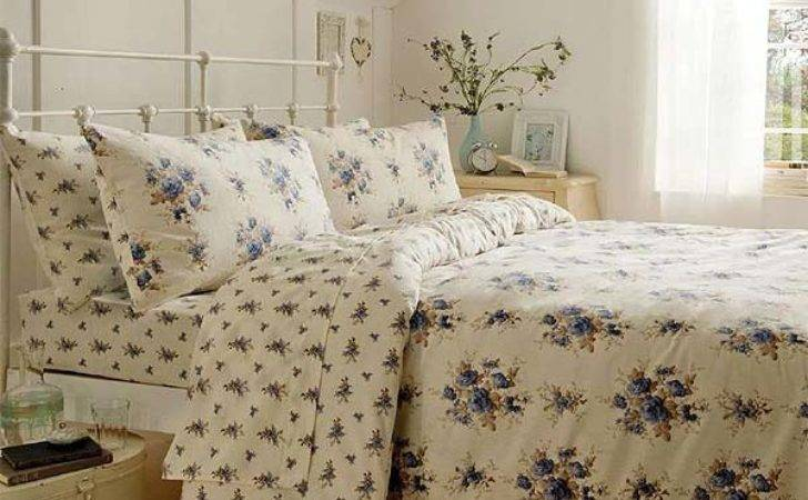 Catherine Lansfield Madelaine Floral Brushed Cotton
