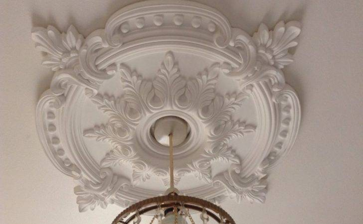 Ceiling Rose Plaster Traditional Victorian Pendant