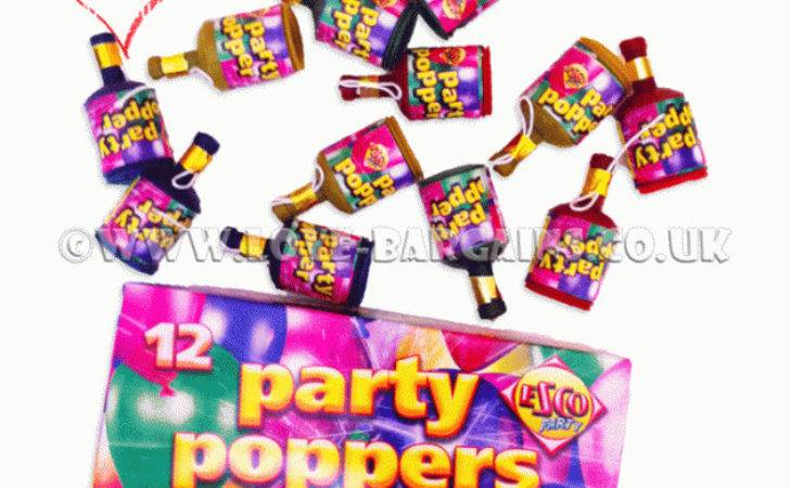 Celebration Christmas Party Poppers Confetti