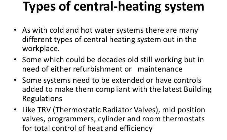 Central Heating Level