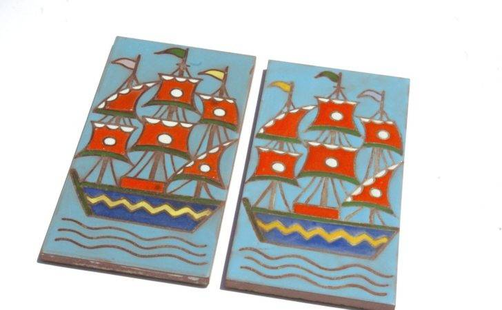 Ceramic Tile Decal Decor Wall Boat