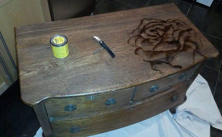 Chalk Paint Stain Painted Dresser