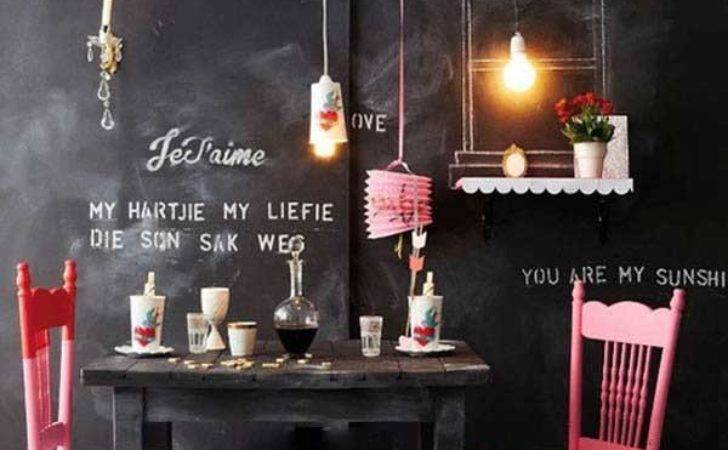 Chalkboard Paint Ideas Allow Personalize Wall Decor