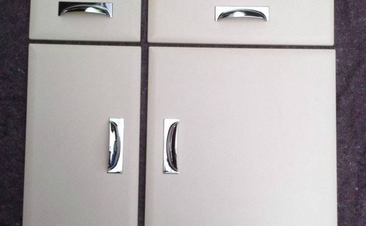 Chamfered Cream Kitchen Unit Cabinet Cupboard Doors Fits