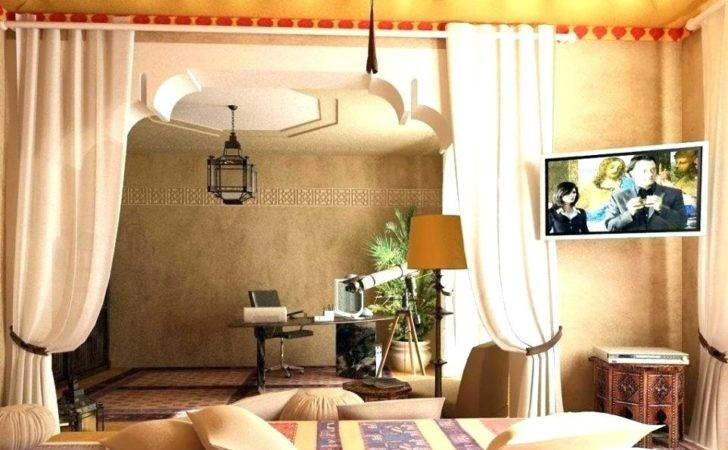 Charming Egyptian Themed Living Room Simple