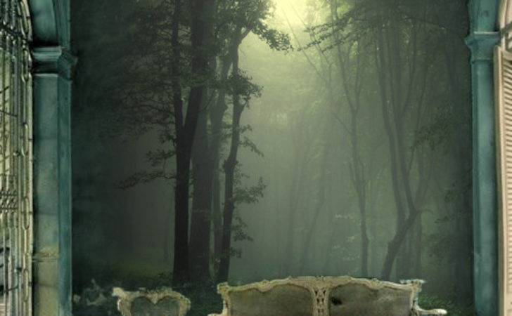 Charming Forest Themed Wall Murals Pixersize
