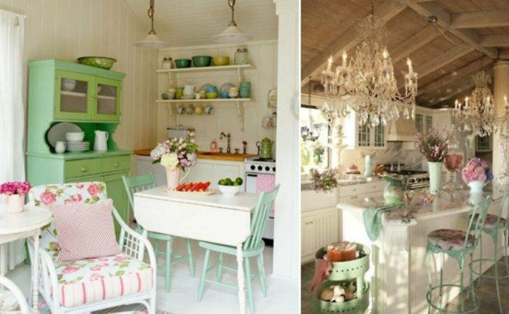 Charming Shabby Chic Style Kitchen Designs Godfather