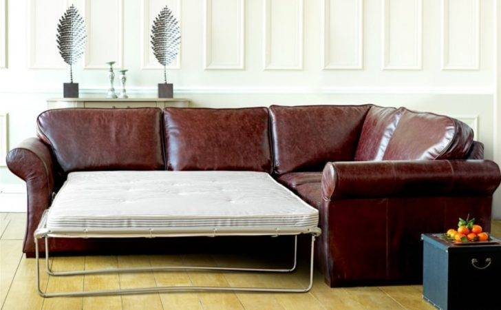 Chatsworth Leather Corner Sofa Bed Beds